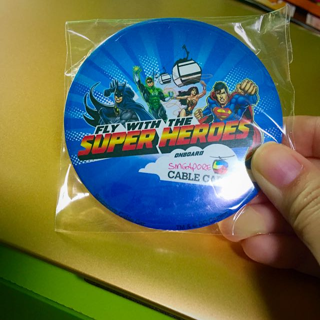 Superheroes Badge
