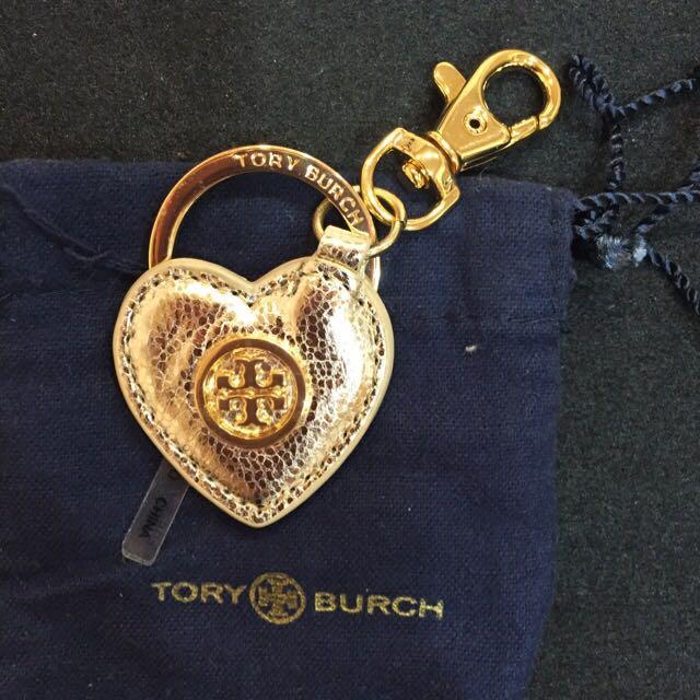 Tory Burch 金色鑰匙圈