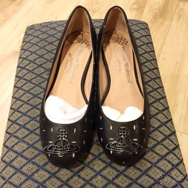 Vivienne Westwood 牛皮平底鞋