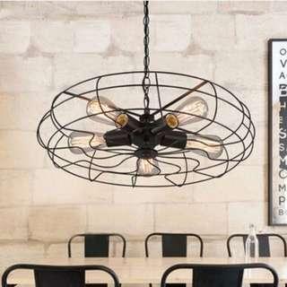 BROOKLYN Fan Grille Pendant Light