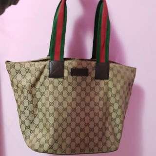 Gucci 帆布包