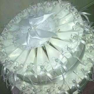 婚宴回禮禮盒(蛋糕型)