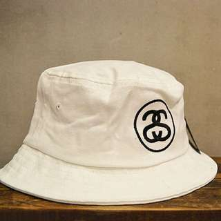 (含運)STUSSY 基本款LOGO經典漁夫帽
