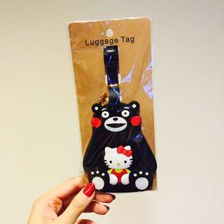 ✖️出清✖️熊本熊xKitty行李牌