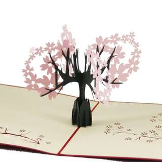 [INSTOCK] Cherry Blossoms 3D Pop Up Card
