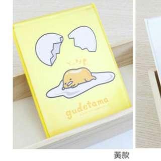 蛋黃哥(中)折疊收納鏡/黃/白色