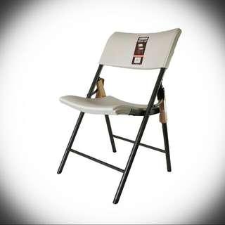 大降價COSCO 塑膠折疊椅 LIFETIME FOLDING CHAIR PLASTIC