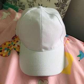 (保留)✨全新✨白色全素帽子