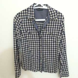 MNG Checkered Shirt