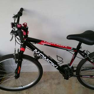 26 Inch MOMOKI Mountain Bicycle With Gear