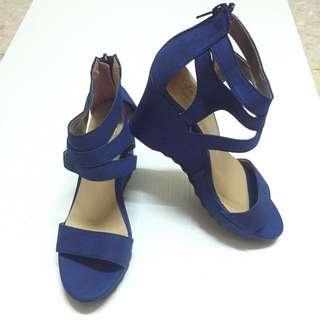 ✨全新🎀 氣質甜美 楔型涼鞋