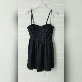 Mini dress (Black)
