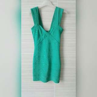 Bandage dress (Ocean green)