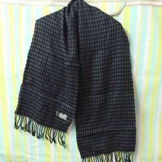 千鳥格紋圍巾