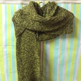 全新保暖針織圍巾