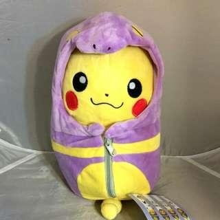要去澳洲 殺到低 (出清價請入內)神奇寶貝 皮卡丘 阿柏怪睡袋