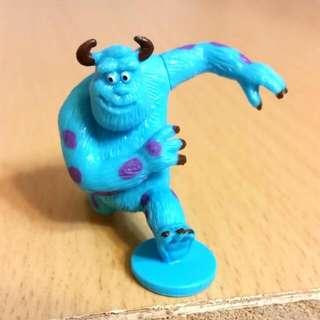 迪士尼 怪獸大學 毛怪 巧克力蛋 公仔