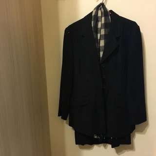 韓式西裝外套套裝2件式