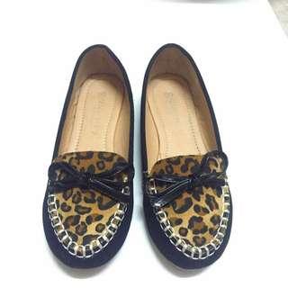 ✨ 蝴蝶結 🎀 豹紋 娃娃包鞋