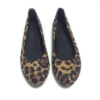 ✨甜美 豹紋 娃娃包鞋 🎀