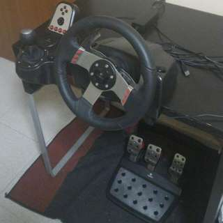 Logitech G27 Wheel And Pedal Set With Box
