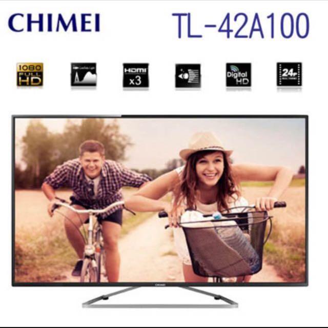 奇美42型液晶電視(42A100)