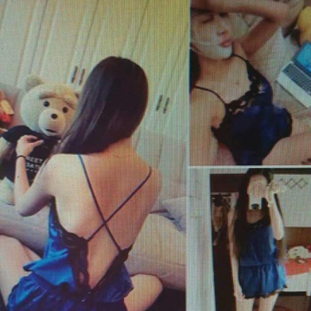 寶藍色性感睡衣🎁
