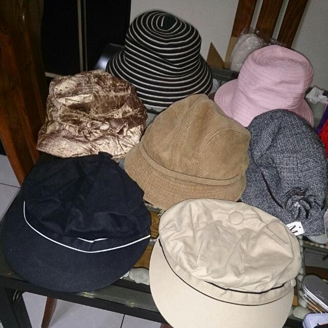 日本帶回帽子