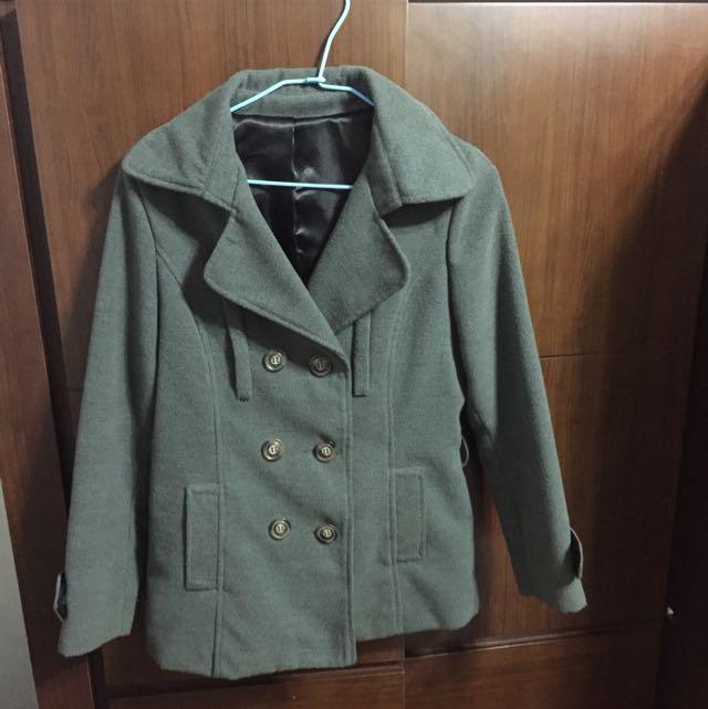 灰色大衣(含運)