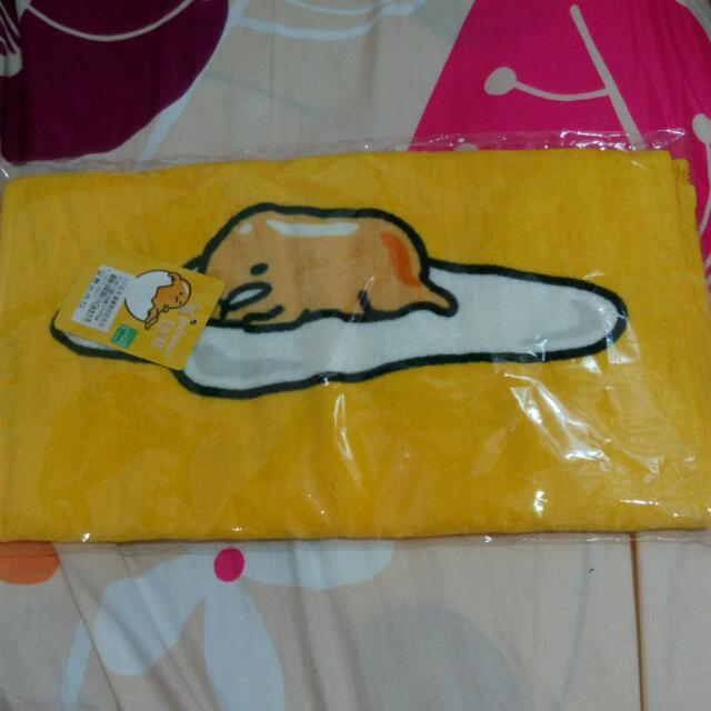 蛋黃哥毛巾 33x76公分 全新 超可愛