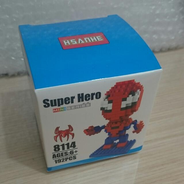 微型積木 樂高 積木 蜘蛛人