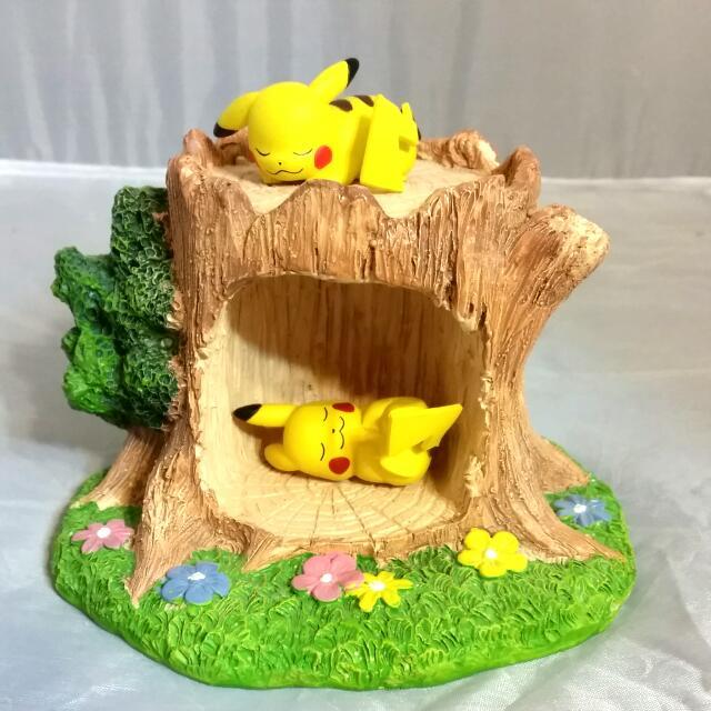 樹洞 場景 模型 底座 可放神奇寶貝 迪士尼 公仔 扭蛋