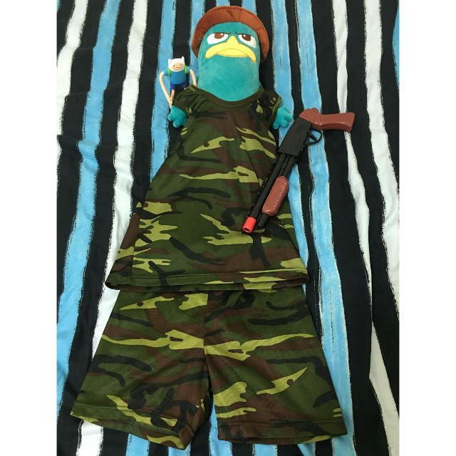 迷彩泰瑞當兵趣 HAHA 迷彩套裝