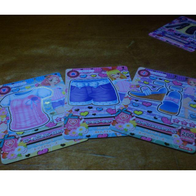 Aikatsu ! 偶像學園 第一季第六彈 套卡 一組3張