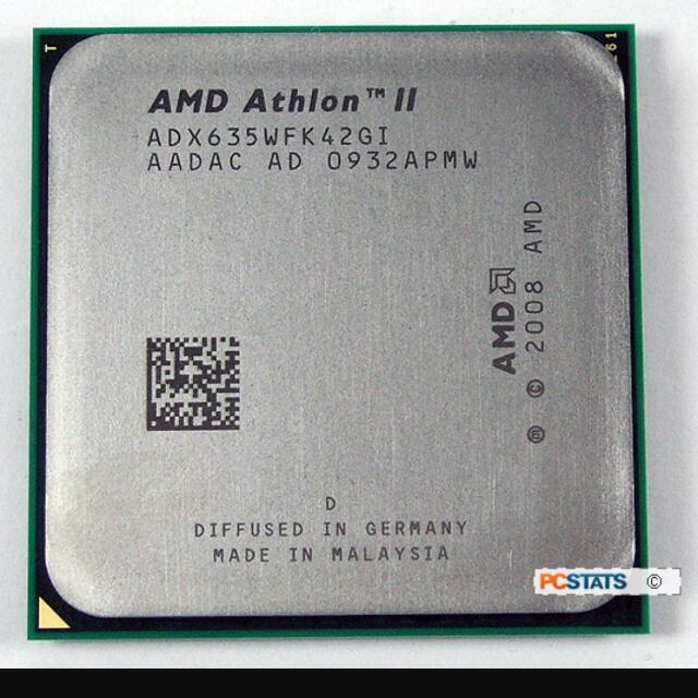 AMD CPU X4 635 二手良品
