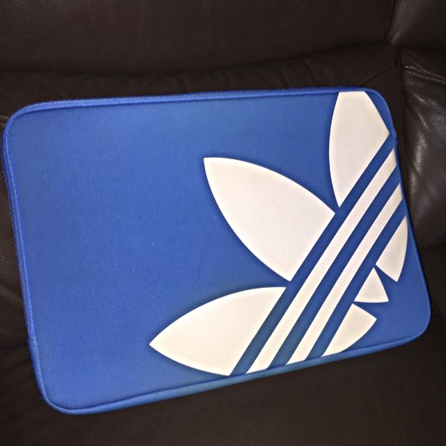 Blue Adidas Laptop Sleeve
