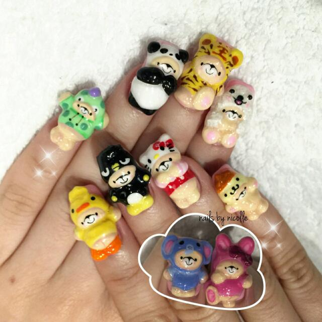 cny 2016*nail design*gel manicure*pedicure*nail art, Women\'s Fashion ...
