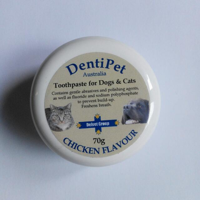 Dentipet Cat Dog Dental Chicken Flavour Toothpaste 70g