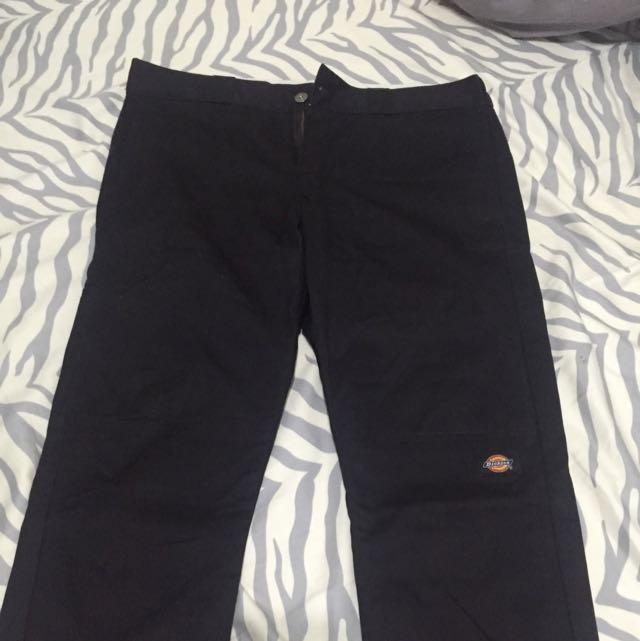 Dickies 工作褲 32腰 黑色 藍色
