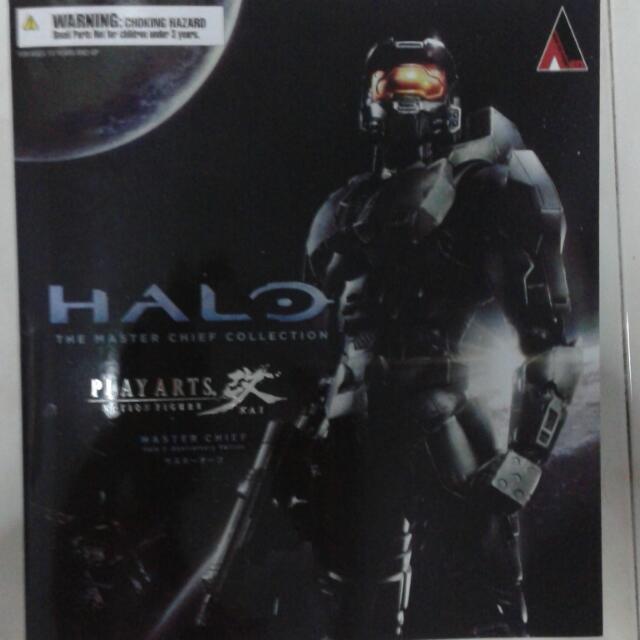 Play Arts Kai Halo 2 Anniverssary Master Chief Transformers Hot
