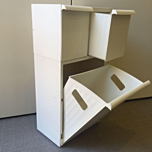 [Pending] IKEA RETUR Storage Bins x3