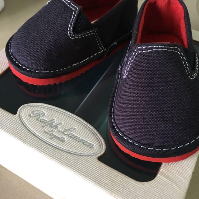 Ralph Lauren Baby Shoes Size 1 Brand New