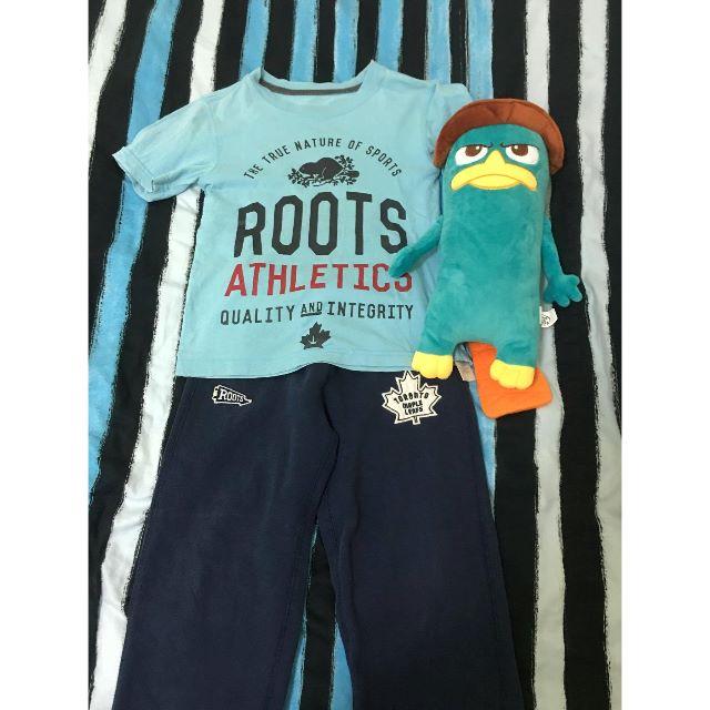 roots短T roots運動棉褲 超人牛仔褲