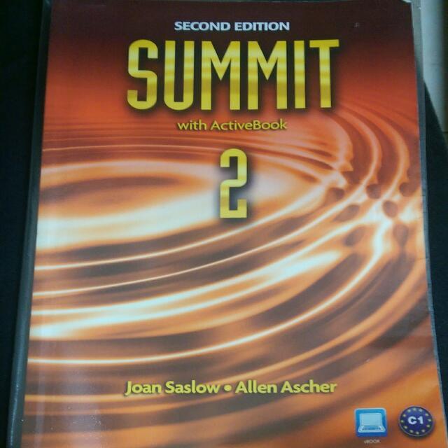 (二手)Summit 2💕英文課本