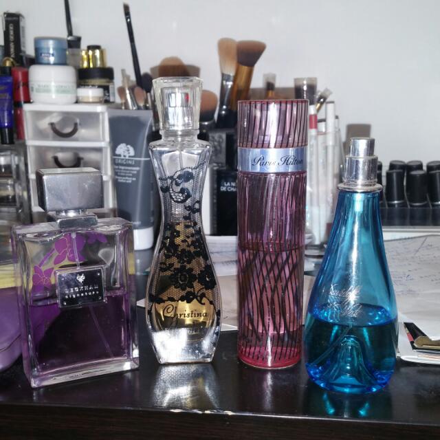 Used Perfumes