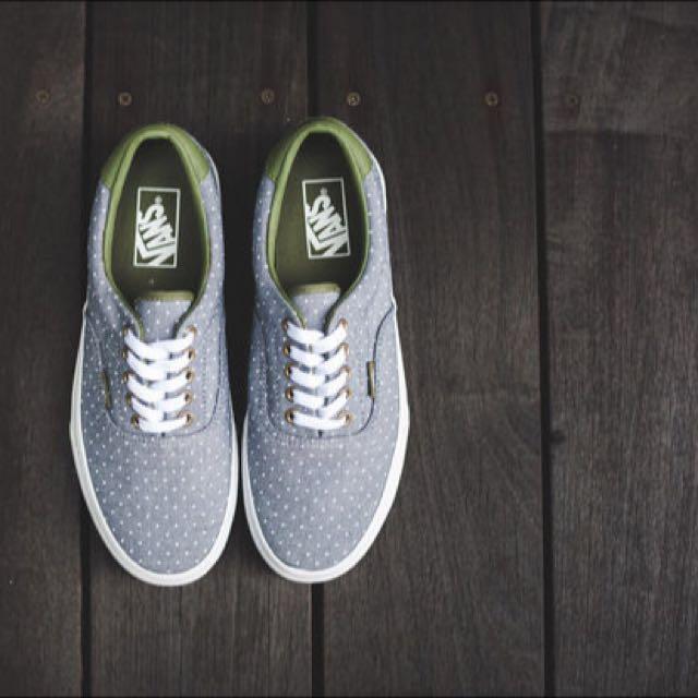 e1d5ac0179 Vans Era 59 Chambray Dots (Grey Olive Green)