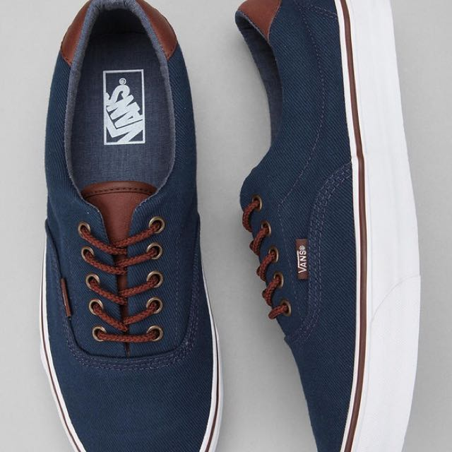 c1db7a483f Vans Shoe With Some Leather Parts Condition 10 10 Worn Only A Few ...