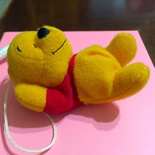 YUJIN 扭蛋/轉蛋已絕版 迪士尼維尼 超可愛❤️ 維尼睡眠系列💤娃娃吊飾