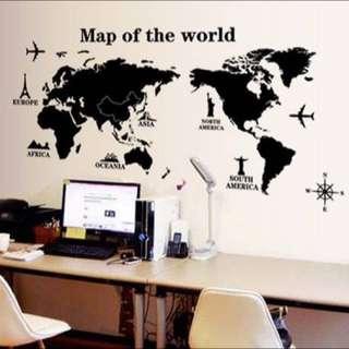 全新壁貼 環遊世界