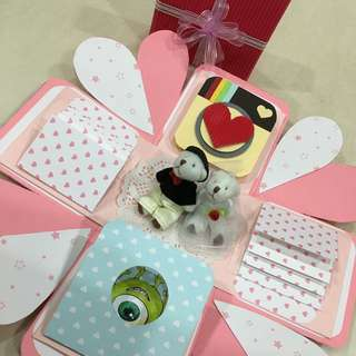 情人節限定 小熊款禮物盒 💍